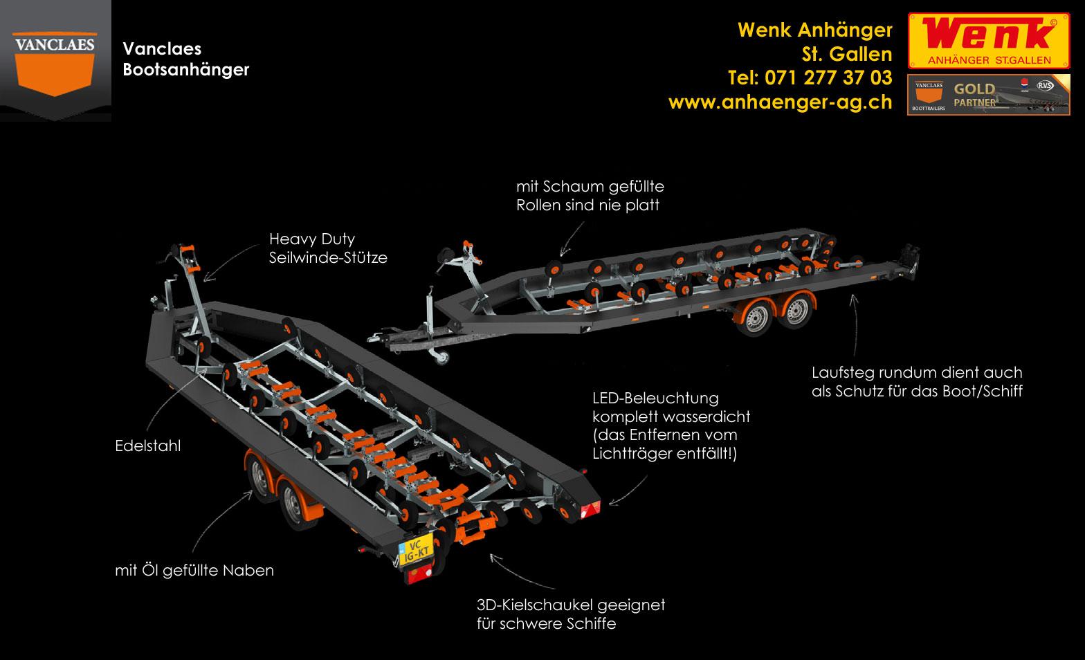 Anhänger und Fahrzeugbau Wenk AG Schweiz